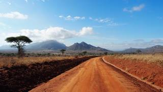 tsavo west landschaft