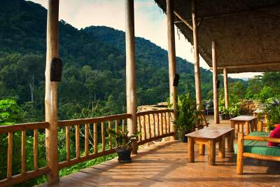Engagi Lodge - Buhoma - Bwindi Nationalpark